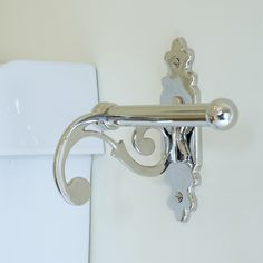 This #loo #roll #holder has a #sophisticated look, creating a more #stylish #bathroom