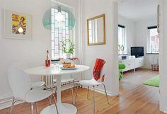 Vidám, fiatalos, színes kis lakás - 41nm - lakberendezési ötletek 1