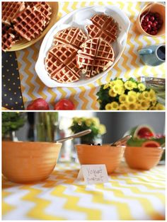 kid party food....waffles