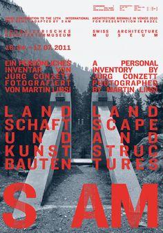 Landscape and Structures | S AM Schweizerisches Architekturmuseum