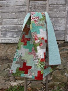 Christmas Cogs Quilt Tutorial - Featured Project