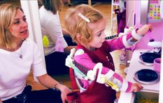Two-Year-Old Gains Use of Her Arms Thanks to 3D Printed Robotic Exoskeleton