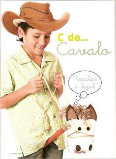 Cavalinho de Garrafa Pet - Mundinho da Criança - Atividades para Educação Infantil