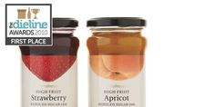 The Dieline Awards: First Place - Food B - Waitrose High Fruit Jams — The Dieline