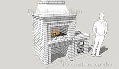 Проекты барбекю мангалов из кирпича с казаном в беседке   Печных дел Мастер Bbq Grill, Container, Bar Grill, Barbecue