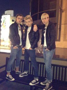 Rocky, Ross, and Riker Lynch. :)