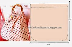 SAVE - Creation, Recycling: Bags with Sample Patterns search results Bag Patterns To Sew, Sewing Patterns, Diy Sac, Diy Handbag, Craft Bags, Types Of Bag, Fabric Bags, Handmade Bags, Sewing Tutorials
