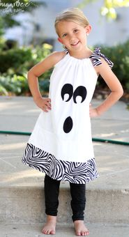 DIY pillowcase ghost dress - so easy so cute!
