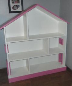 Free Plans to Build a Dollhouse Bookcase | Ana White