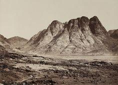 Francis F. Frith, Mount Horeb, Sinai, 1858
