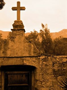 The Santa Barbara Mission in California dates back to 1786, and many spirits abound. I have been here and this place has a pure sense of peace about it that is almost tangible.