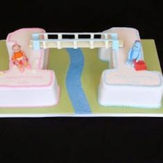 A great 1st birthday cake for twins Cakes Cupcakes Cake