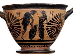 Greek warrior Greek Warrior, Greece, Planter Pots, Vase, Decor, Greece Country, Decoration, Vases, Decorating