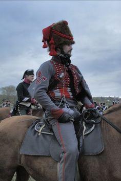 Zappatore del 3 rgt. ussari francese