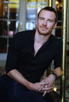 Michael Fassbender one seriously hot piece of man peopl, michaelfassbend, michael fassbender hot, celeb, fassi ginger, actor, men, boy boy, ginger man