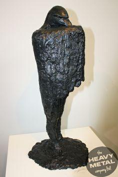 "''Tupua"" (Supernatural Being) - Heavy Metal for Brett Rangitaawa, Lower Hutt, Wellington. Metal Company, Metal Workshop, Supernatural Beings, Maori Art, Architectural Salvage, Bronze Sculpture, Heavy Metal, Contemporary, Gallery"