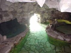 The Playboy Mansion Grotto