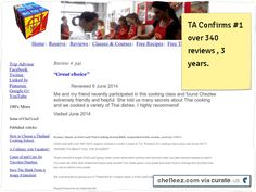 # Chef #LeeZ #Review 341 and response posted by TA  #1 #school over 341 reviews <3 yrs More in a class than any other school Clipped from chefleez.com