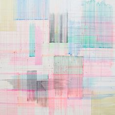 Patternbank were drawn to the work of Joan Saló, with delicate fine lines and subtle colour combinations Saló's paintings are unusual in that he uses tradi
