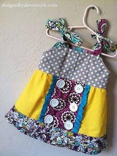 The Olivia Tunic Dress Tutorial by DesignedbyDawnNicole, via Flickr