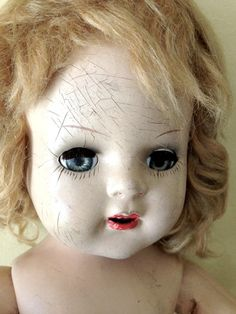 Vintage scary doll for sale