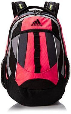 ADIDAS HICKORY BACKPACK Shoulder Rucksack Travel BAG PINK NEON BLACK Vegan