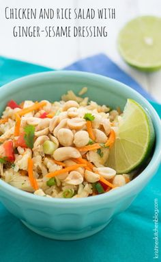 Chicken-and-Rice-Salad-with-Ginger-Sesame-Dressing-Kristines-Kitchen
