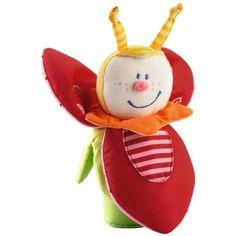 Trixie Beetle - Infant Soft Rattle   HABA USA