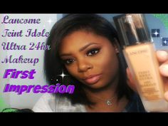Lancome Teint Idole 24H Foundation - First Impression & Demo (Oily Skin) - YouTube