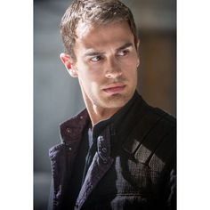 Tobias Eaton aka Four of the Divergent Trilogy. The one portraying as... ❤ liked on Polyvore featuring guys
