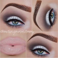 Perfect Light Blue/ Smokey Eye Look For Spring