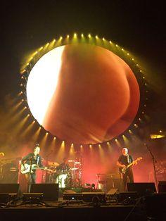 David Gilmour Pompéi 2016