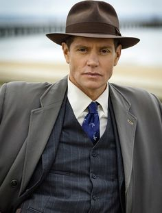 Miss Fisher's Murder Mysteries. Nathan Page as Inspector Jack Robinson.