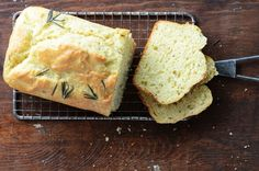 Rosemary and Onion Quick Bread
