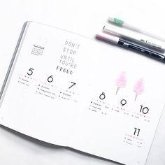 This week in my bullet journal ❤️ • • • • • #bujo #bujoinspo #bujoweekly #bulletjournal #bulletjournalnorge #planner #plannerlove #plannernerds #personalplanner #happyplanner