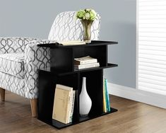 Accent Table - 24 Inch H / Black