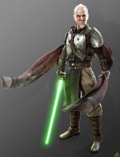 Jedi Master Rahm Kota from Star Wars: The Force Unleashed video game series another one of my absolute over all in the Star Wars universe.