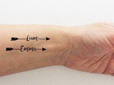 4 tatuajes temporales personalizados con el por encredelicate