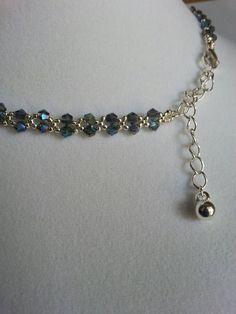 Best 12 Free pattern for necklace Wild Berry – SkillOfKing. Diy Jewelry Necklace, Bead Jewellery, Wire Jewelry, Handmade Jewelry, Beaded Necklace, Beaded Bracelets, Handmade Wire, Wire Earrings, Ankle Bracelets