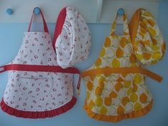 tidbits: Child's Apron Tutorial need to make Ella a few of these for her birthday so she can help me bake all the Christmas goodies