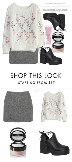 """""""104"""" by erohina-d ❤ liked on Polyvore featuring T By Alexander Wang, Chicwish, Whiteley, Sisley, Windsor Smith and By Terry"""