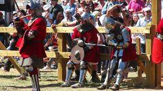 Campeonato del mundo de combate medieval en el Castillo de Belmonte