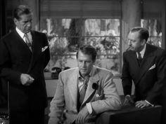Sullivan's Travels: Joel McCrea, Robert Warwick, and Porter Hall