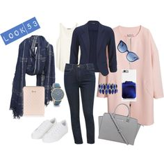 Look 53 - inspiración #friday #viernes #workoutfit #lookoftheday #porfinesviernes by mas-tendencias on Polyvore featuring polyvore, moda, style, H&M, M&Co, Topshop, Michael Kors, RumbaTime, Fendi, Leigh & Luca and Harrods