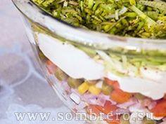 многослойный салат рецепт