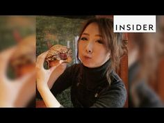 Feast your eyes on this thick juicy burger at NYC's Salivation Burger - YouTube