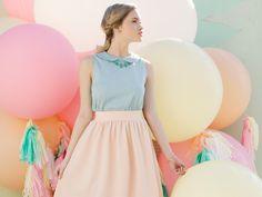Pastel inspired fashion