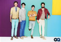 Vampire Weekend Shows Us Faded Colors For Spring: Wear It Now: GQ