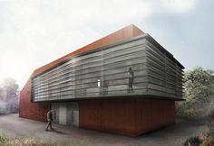 Πρόταση F15HAYSX για τον Αρχιτεκτονικό Σχεδιασμό κτιριακού οργανισμού που θα στεγάσει Μονάδα Παραγωγής Ηλεκτρικής Ενέργειας ισχύος 1Mw από Φυτική Βιομάζα (Woodchip), ενόψει της έναρξης υλοποίησης εγκατάστασης Μονάδων 1Mw από την Dos Energy .