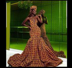 African women dress/ African lace dress for weddings/African peplum dress for engagements /Plus size african African Prom Dresses, African Dresses For Women, African Women, African Fashion, African Attire, African Clothes, Tribal Fashion, African Style, African Art